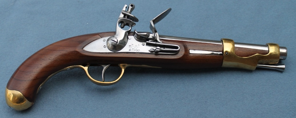 French 1766 Cavalry Pistol  (1766-1801) American Revolution for sale