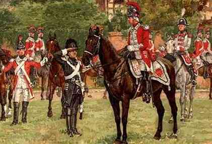 Raised in 1760 by a veteran of the siege of Quebec, the 17th Light Dragoons saw extensive service during the American Revolution including at Bunker Hill, White Plains, Fort Washington, operations in Georgia and the Carolinas including Cowpens.
