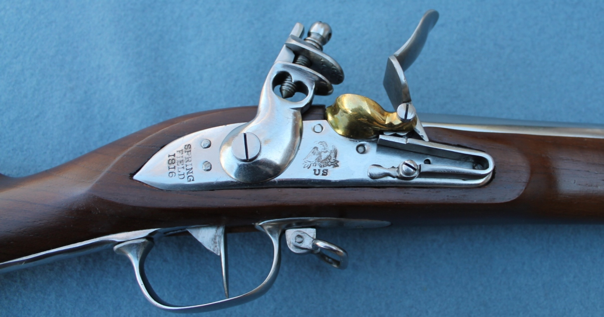 1816 Springfield Musket United States Infantry
