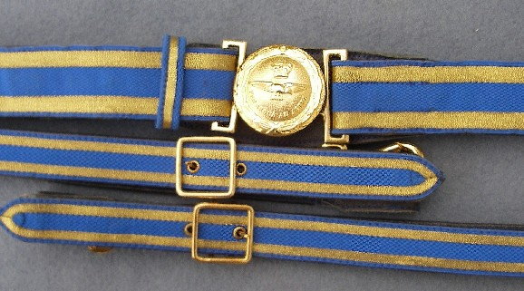 Leather Sword Belts and Military Accoutrements