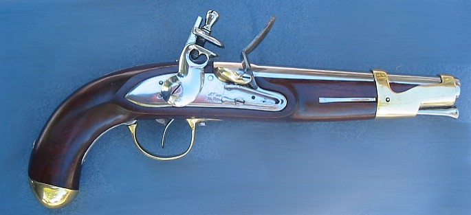 "French ""AN IX"" Cavalry Pistol, 1801 Napoleon Dragoons Hussards"