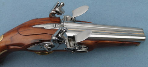 double barreled privateer pistol