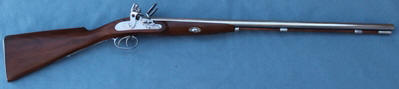 Double Barrelled Flintlock Shotgun