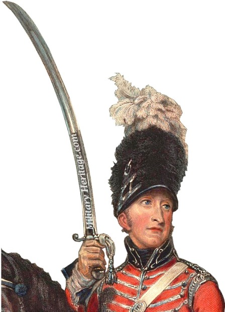 Britiish Light Dragoon with 1796 sabre