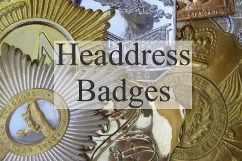Military Headdress Badges, Plates and Shoulder Plates