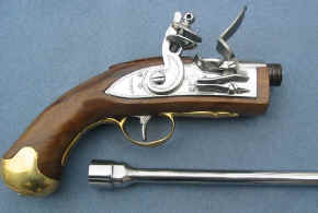 Flintlock Pistol for Firing Artillery