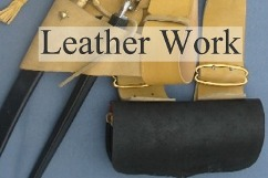 Leather Belting, Pouches and More