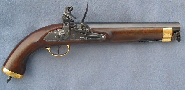 British New Land Pattern Cavalry Pistol ( Napoleonic Wars)
