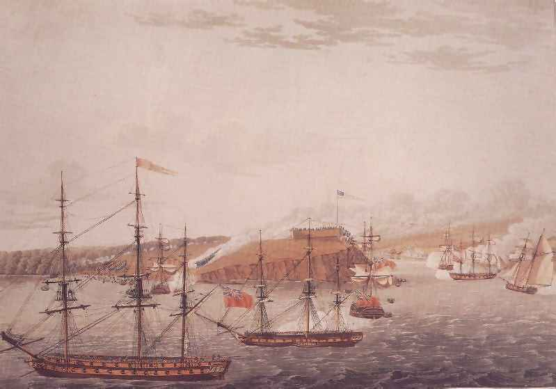 Fort Oswego An Important American Base At The Eastern End Of Lake Ontario Was Captured On 6 May 1814 By A Force Of British Regulars Marines And Seamen