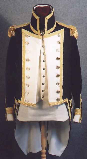 Royal Navy Lieutenant's Uniform, 1800-1811