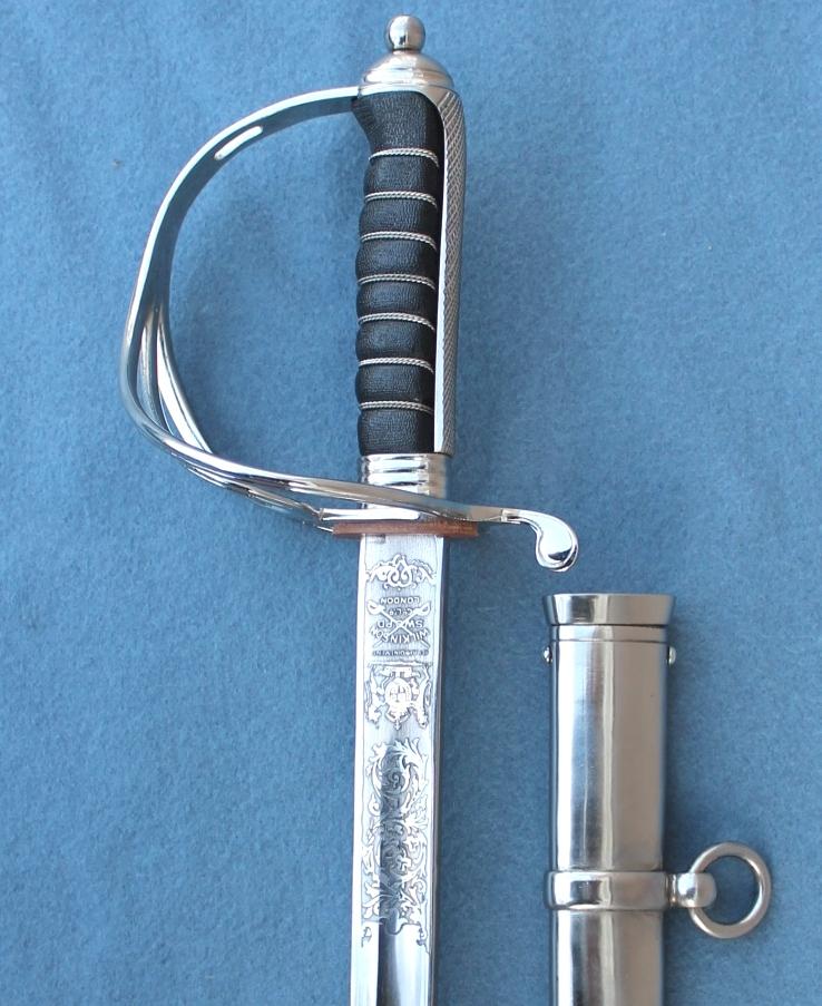 Royal Artillery and Royal Horse Artillery Sword for sale