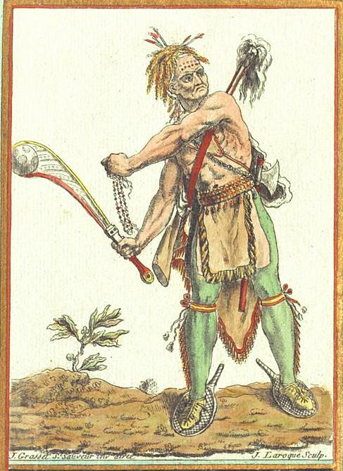 Native warrior, 18th century